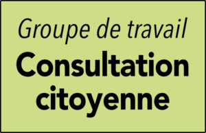 GT Consultation citoyenne